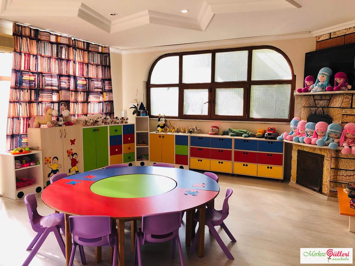 Anaokulu Çocuk Oyun Salonu - Merkezgülleri Anaokulu