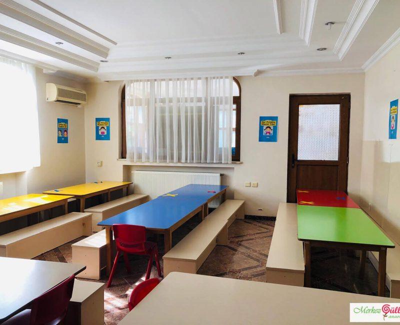 Anaokulu Sıraları Toplantı Salonu - Merkez Gülleri Anaokulu